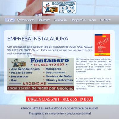 diseño pagina web para pymes ejemplo 5