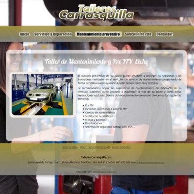 diseño pagina web para pymes ejemplo 3