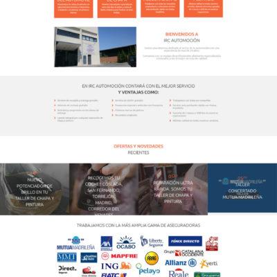 diseño pagina web empresa ejemplo 7