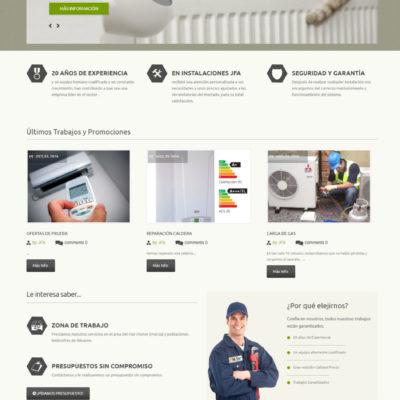 diseño pagina web empresa ejemplo 5