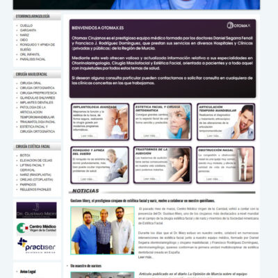 diseño pagina web empresa ejemplo 4