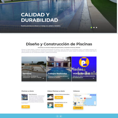 diseño pagina web empresa ejemplo 2