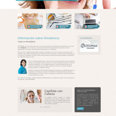 diseño pagina web empresa ejemplo 3