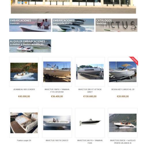 diseño tienda online ejemplo 3