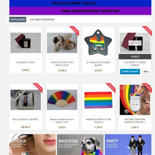 diseño tienda online ejemplo 2