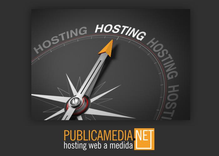 servicio hosting web a medida
