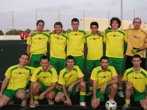 Equipo fútbol Publicamedia