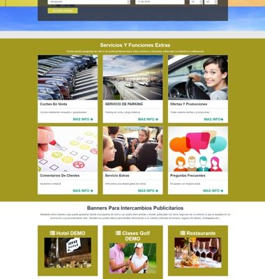 web programa rent a car