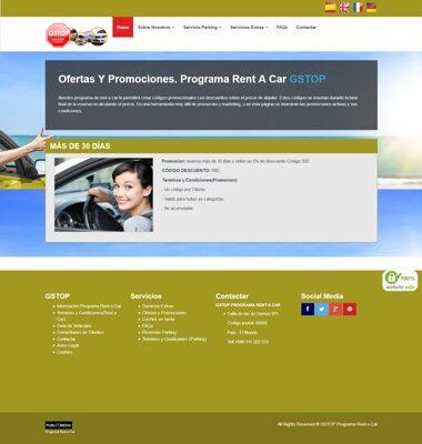 ofertas programa rent a car