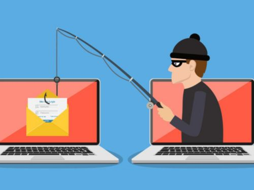 Emails falsos